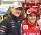 Felipe Massa aseguró que Schumacher ha mostrado mejoría