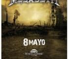 ¡Gana boletos para el concierto de Megadeth!