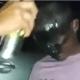 La brutal reacción de un policía contra un grafitero