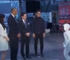 Obama y el robot más avanzado del mundo se pusieron futboleros