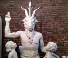 Primer vistazo al monumento satánico que quieren poner en Oklahoma