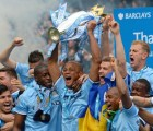 El pastel con el que celebró el título el dueño del Manchester City