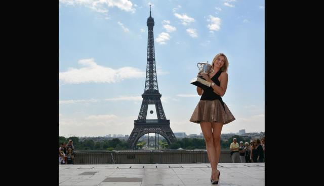 sharapova paris7