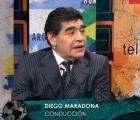 Hasta Maradona le entró al #IceBucketChallenge