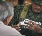 """Costó 30 millones de pesos """"desarme"""" en DF... tasa de homicidio sigue igual"""