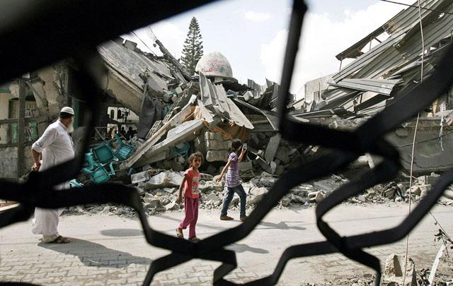 Israel destroys Al Farouk mosque in Rafah
