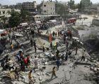 Bombardea Ejército de Israel edificio en la Franja de Gaza