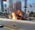 Sin lesionados tras explosión de tubería de gas en Monterrey
