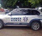Usan autos del narco como patrullas porque no encuentran a sus dueños