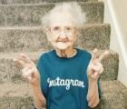 """Murió """"la abuela de Instagram"""" que luchaba contra el cáncer de pulmón"""