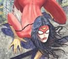 Aquí está la polémica nueva portada de Spider-Woman