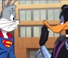 Bugs Bunny es Superman y se enfrenta al Pato Lucas