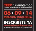 ¿Ya te inscribiste a TEDxCuauhtemoc? ¡Te quedan 2 días!