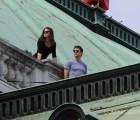 """Tom Cruise vuelve a ser Ethan Hunt en las primeras fotos del rodaje de """"Mission: Impossible 5"""""""