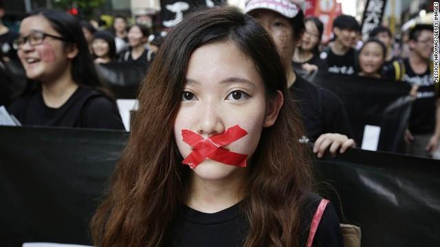 on June 1, 2014 in Hong Kong, Hong Kong.