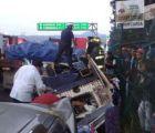Mueren cuatro militares en accidente sobre la México-Cuernavaca