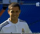 """Así se puso la presentación del """"Chicharito"""" con el Real Madrid"""