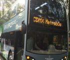Así se ve el Metrobús de dos pisos