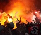 Brotes de violencia en Glasgow tras referéndum en Escocia