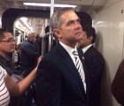 """Mancera en el Metro; """"es muy seguro, viajé con cartera y 3 celulares"""": titular SSPDF"""
