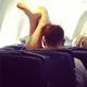 Los pasajeros más incómodos en los aviones #PassengerShaming