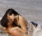 Tienen sexo en el mar...y terminan pegados