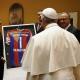 Galería: El Bayern Munich visitó al papa Francisco en Roma
