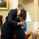 Obama recibe a una de las enfermeras que superó el ébola