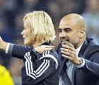 Pep Guardiola perdió el control con una mujer árbitro en la Bundesliga