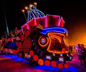 Mayan Warrior, el carro que nos representa en Burning Man