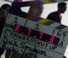 """Conway está harta de grabar su video """"Shut Up""""... en su video para """"Shut Up"""""""