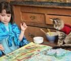 A través del arte esta niña de 5 años con autismo logra comunicarse