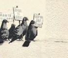 La razón por la que borraron este mural de Banksy