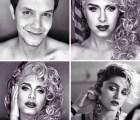 Logró convertirse en muchas famosas solo con maquillaje