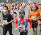Así corrieron el maratón de Beijing (pese a la contaminación)