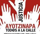 Hoy son las marchas de protesta #JusticiaParaAyotzinapa. Aquí están los detalles