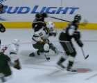 Microinfarto: A un jugador de hockey casi le cortan el cuello