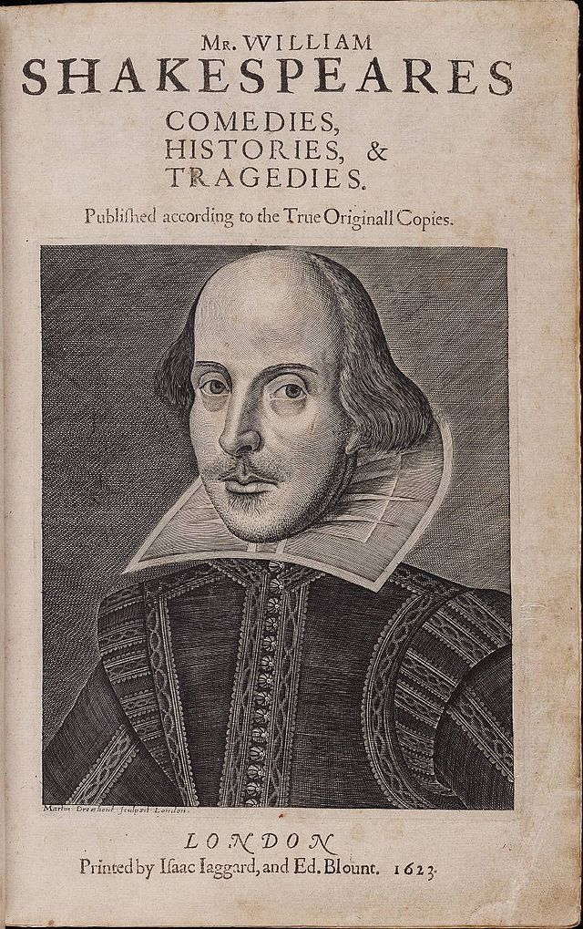 640px-Title_page_William_Shakespeare's_First_Folio_1623