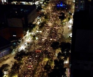 Así se mueve la marcha #20NovMx