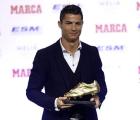 Cristiano Ronaldo recibió la Bota de Oro