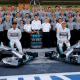 Mercedes, el amo y señor de los récords