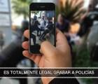 Por si te quedaba duda: grabar a un policía sí es legal