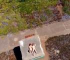 Así se ve el porno grabado con un dron