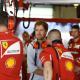 Galería: El primer día de Sebastian Vettel con Ferrari