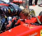 Sebastian Vettel ya se ve como piloto de Ferrari