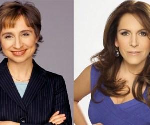 "Fernanda Familiar le pregunta a Aristegui ""¿De cuál fumas?"""