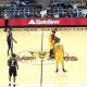 Un murciélago causó terror en un partido de la NBA D-League