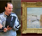 5 años preso por golpear pintura de Monet