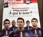 La portada de France Football busca un reemplazante para Ibrahimovic