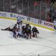 Ouch!!! Un K.O. en un partido de hockey (¿eso es raro?)